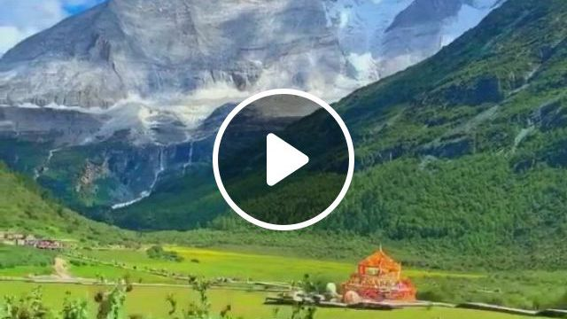 The Secret In The Depths Of Daocheng Aden Is The Last ShangriLa On Earth - Video & GIFs | travel beauty, earth, travel, shangri la, the secret, mountains, nature, beautiful landscapes