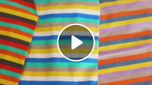 Dog Striped Shirt Sweater - Video & GIFs | tank shirt, dog shirt, sweater shirt, chien halloween, halloween cat, halloween costume contest, funny halloween costumes, french bulldog clothes, dog raincoat