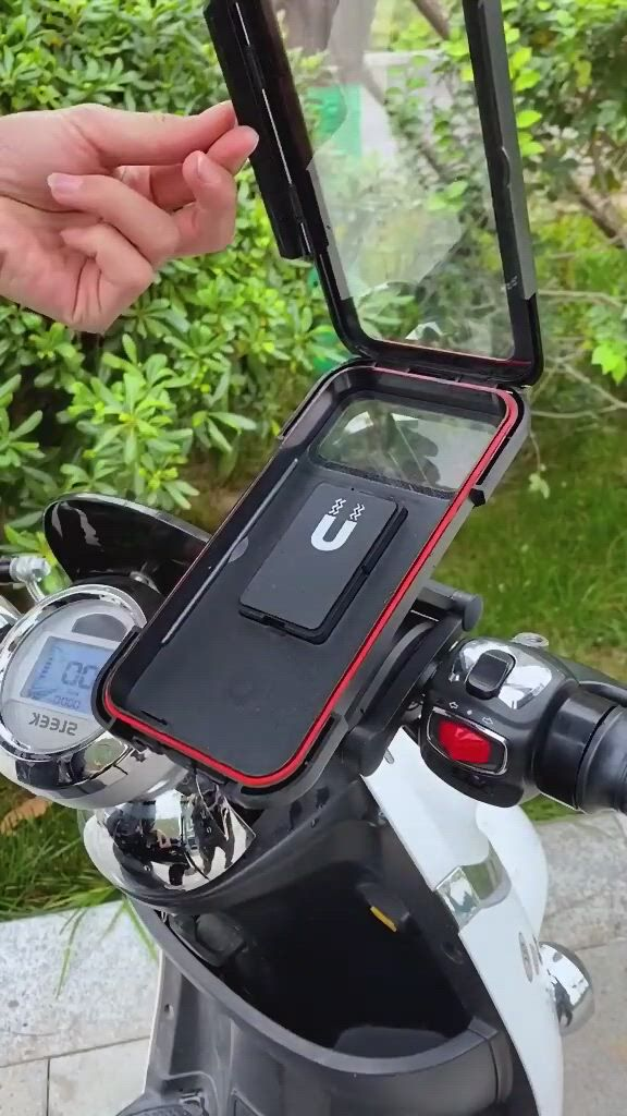 Bike Phone Mount, Waterproof Universal Cell Phone Holder Stand