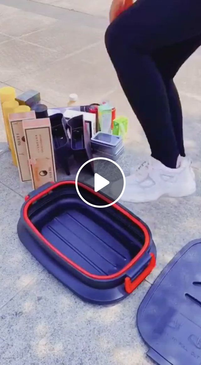 Trunk Foldable Organizer, Save Your Backseat Space - Video & GIFs | family fun games, cool inventions, family fun