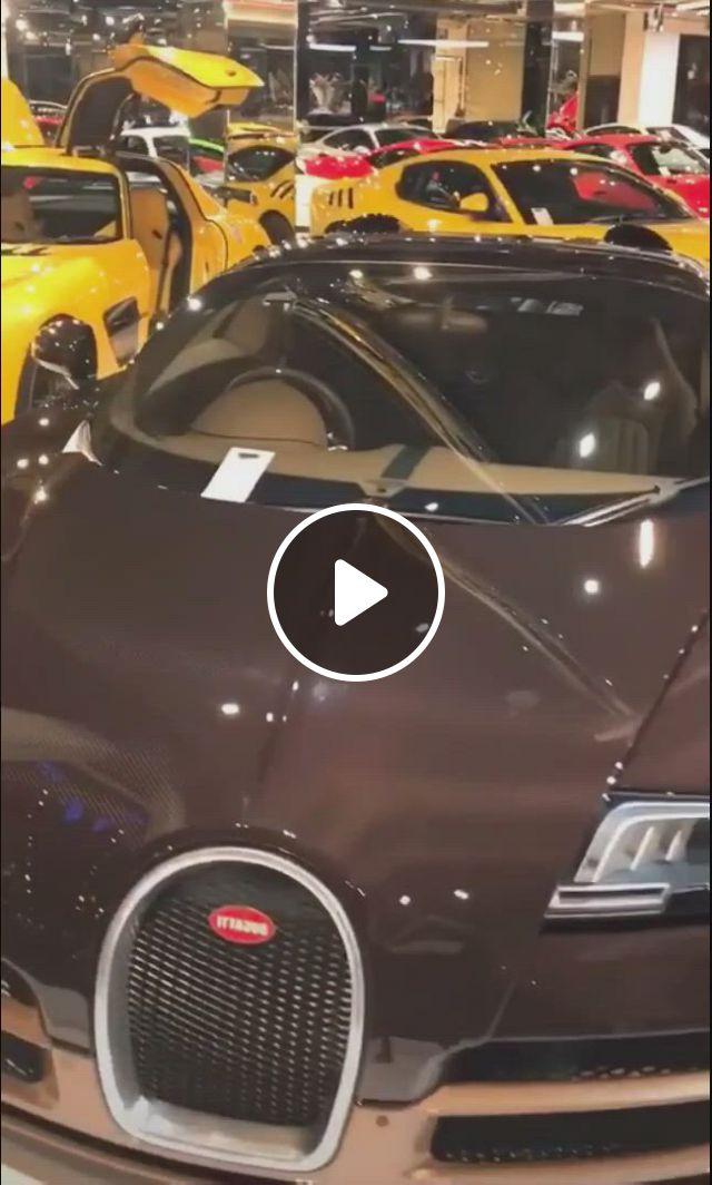 BUGATTI SHOWROOM IN DUBAI - Video & GIFs | fast sports cars, luxury sports cars, top luxury cars, super sport cars, super cars, bugatti cars, lamborghini cars, bugatti veyron, porsche
