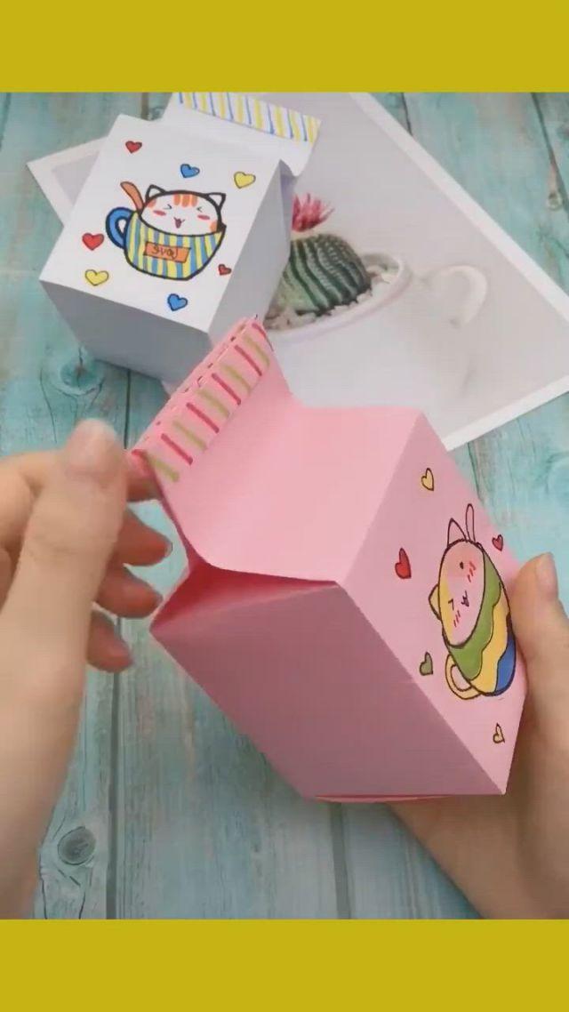 Lovely origami box