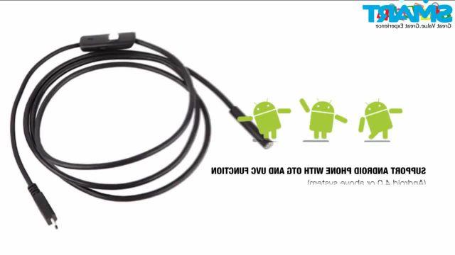 Mini Waterproof Endoscope Compatible Android Smartphone