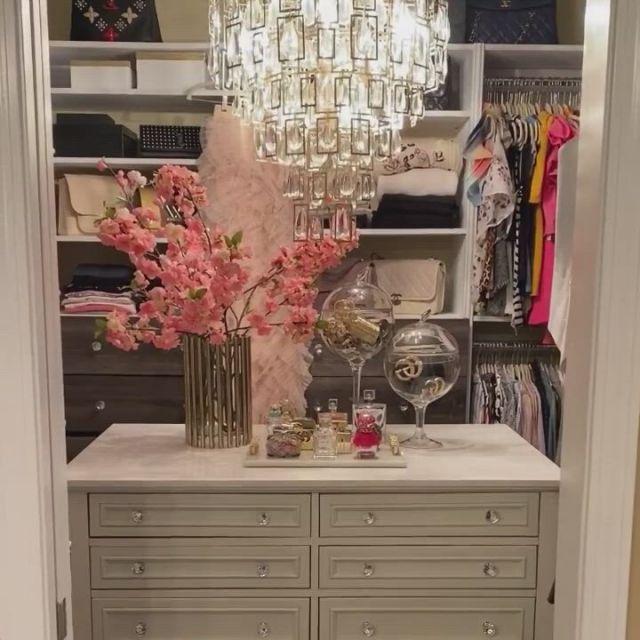 Walk into acloset ideas for inspo - Video & GIFs | small closet organization,organization hacks,modular shelving,small closets,closet designs,diy wood projects,bedroom decor,master bedroom,home interior design