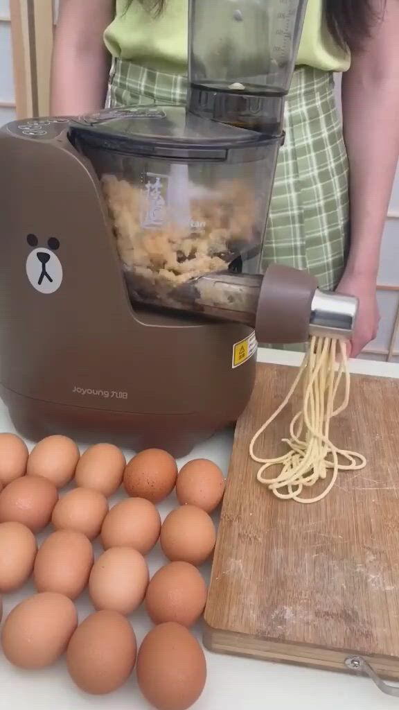 Electric Pasta and Noodle Maker - Video & GIFs | cool kitchen gadgets,kitchen items,cool kitchens,pasta making machine,pasta machine,noodle maker,pasta maker,cool inventions,cooking gadgets