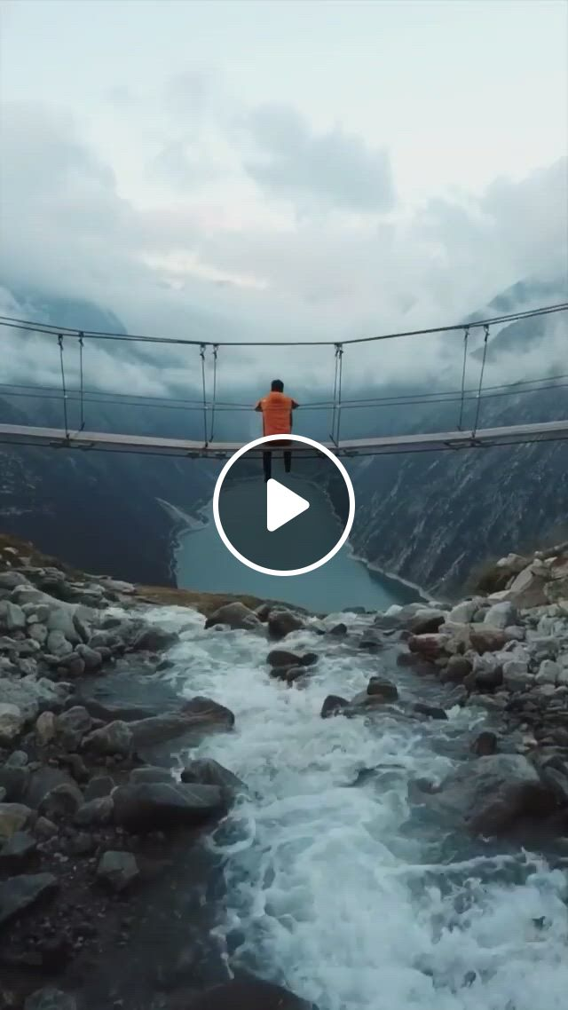 Beautiful Zillertal Alps In Austria - Video & GIFs | beautiful places to travel, cool places to visit, image nature, nature gif, perfect place, the good place, camping