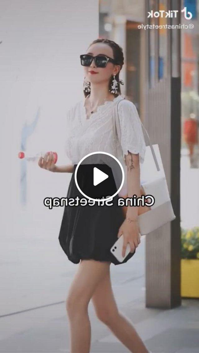 Chinese Street Fashion Street Style Streetwear Street Outfit Street Style Man Street Style Woman - Video & GIFs | chinese fashion street, fashion, asian street style, chinese fashion, chinese style, asian fashion, streetwear mode, streetwear fashion, china mode, fasion, street fashion