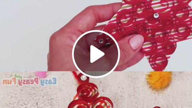 Paper Star Christmas Ornament - Video & GIFs   christmas crafts, diy christmas ornaments, paper stars, halloween crafts for kids, christmas crafts for kids, xmas crafts, christmas ornament crafts, christmas star, bumble the abominable snowman, diy snowflake decorations, maila, easy paper crafts