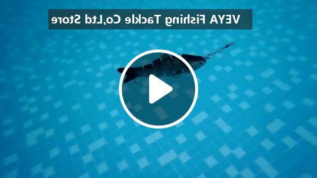 Lifelike Fishing Lure Multi Jointed Bait - Video & GIFs   fishing lures