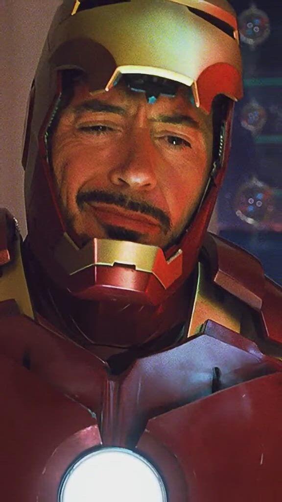 Iron Man Nini's eyes will glow