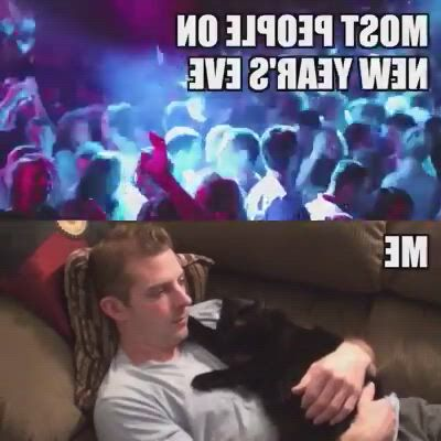 That's me on new year's eve