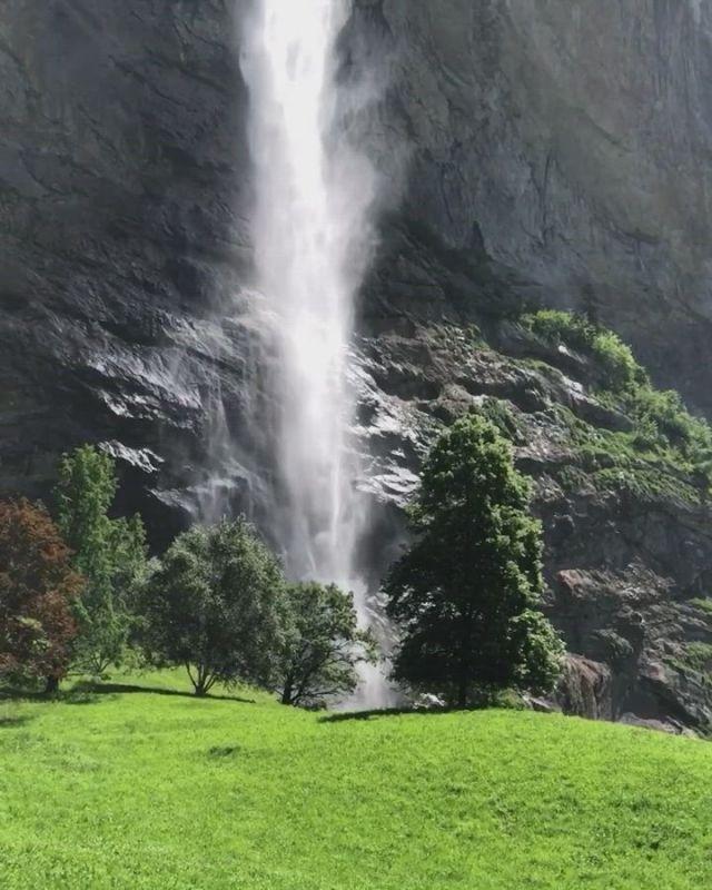 Highly waterfall