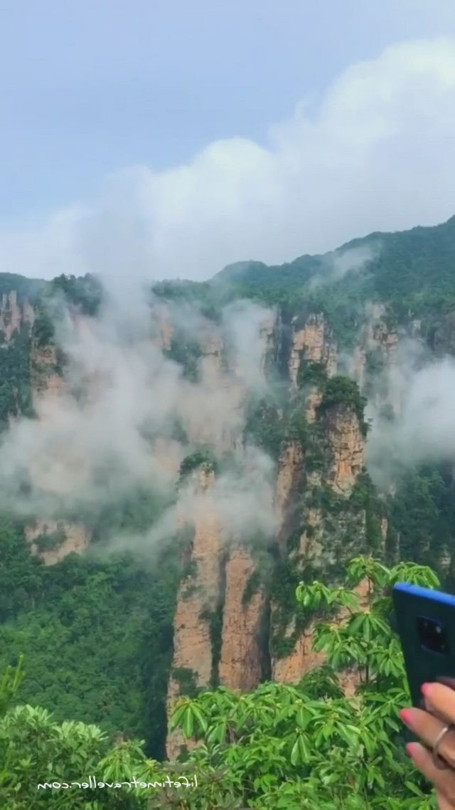 Relax at the top of the mountain - Video & GIFs   waterfall adventure,asia destinations,top of the mountain,international travel tips,stunning view,beautiful,nature gif,nature journal,europe destinations
