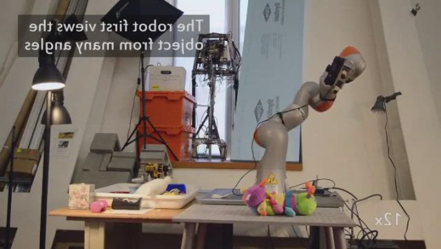 Don robot that studies items before use - Video & GIFs   object,massachusetts institute of technology,technology,three dimensional,robot,software,objects,gadgets,study,training,space