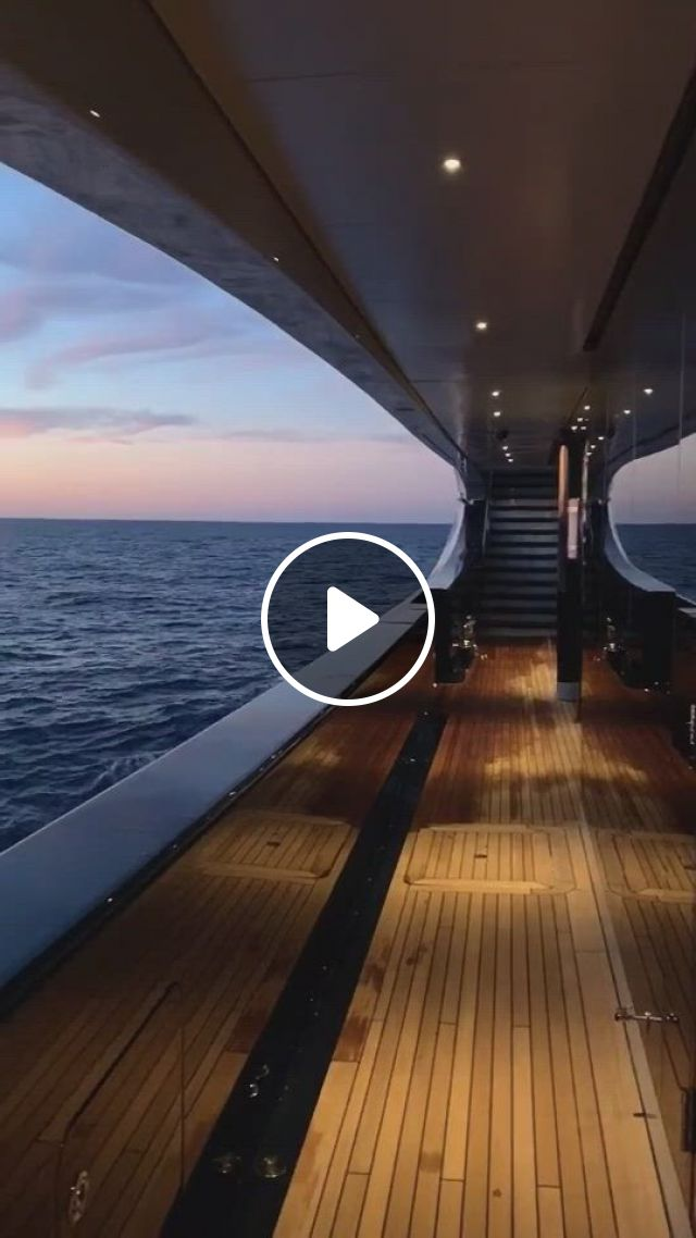 Great End To The Day - Video & GIFs | luxury vacation, luxury yachts, luxury yacht interior, luxury cars, luxury vehicle, luxury vinyl, luxury pools, symphony of the seas, luxury homes dream houses, ocean sunset, beautiful places to travel