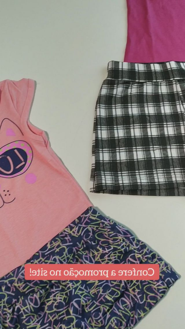 Conjuntos de verao para meninas - Video & GIFs | roupas curtas,meninas,roupas de criancas,reusable tote bags,fashion,summer playsuits,clothing sets,kid outfits,outfit store,summer outfit,kids fashion,summer food kids