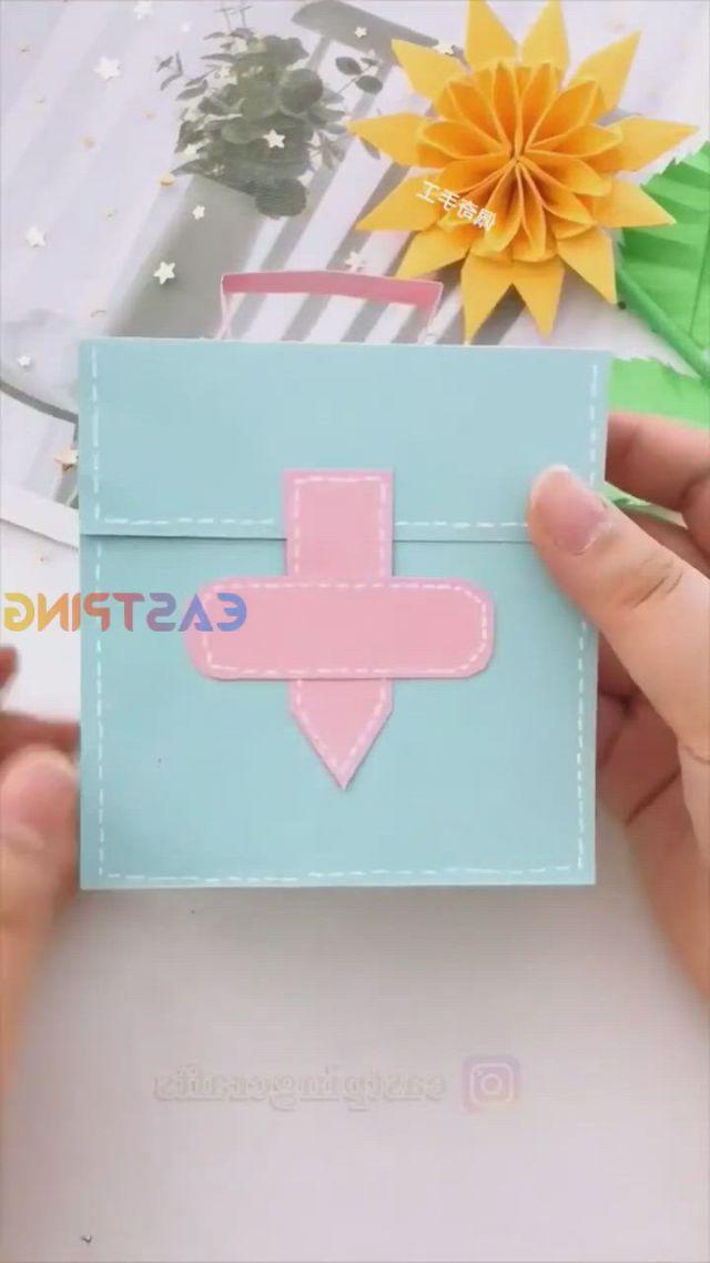 DIY Creative crafts easy origami paper tutorial