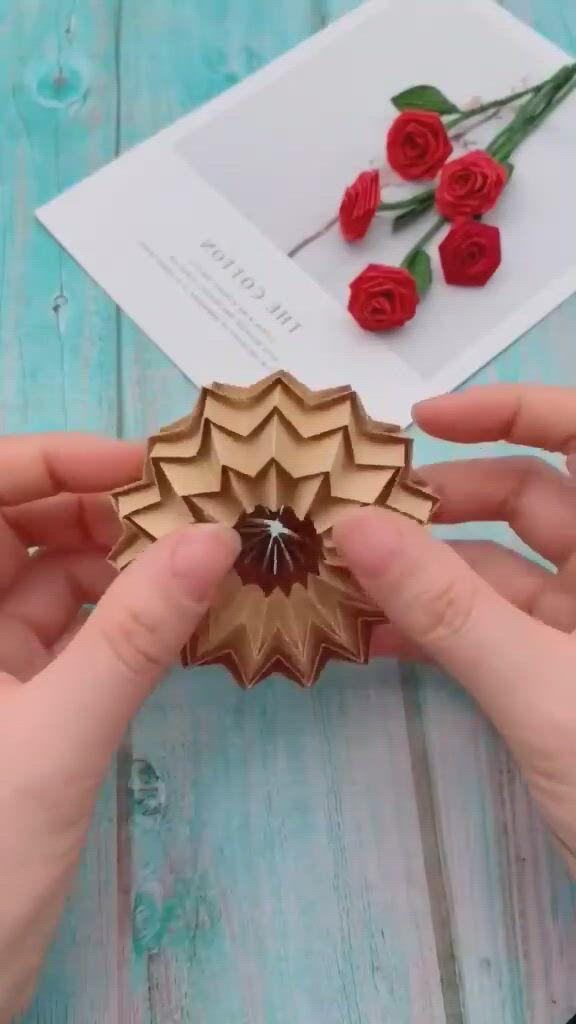 DIY Origami Tutorial Art Step By Step