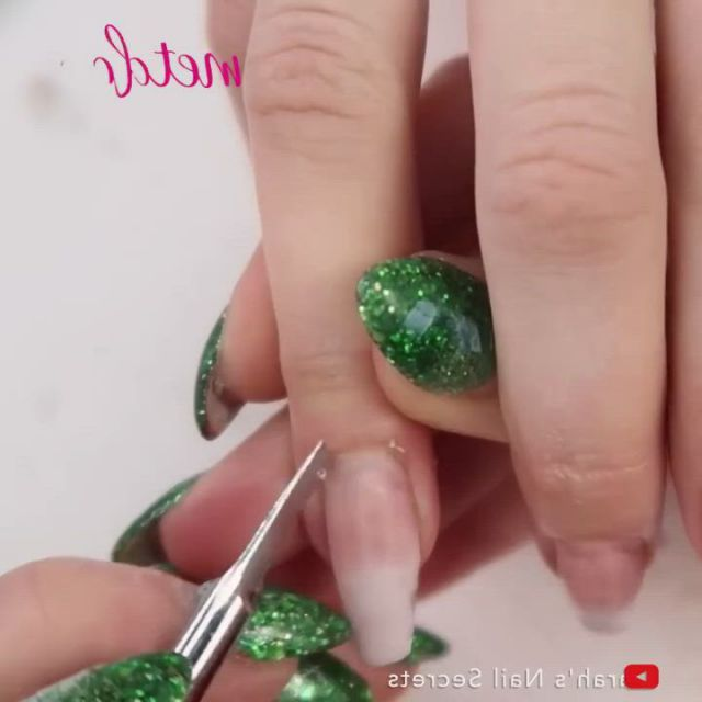 How To ELEGANT SET - Video & GIFs | elegant sets,nail art,nails,nail tutorials,make up,elegant,crafts,clothes,beauty,eye make up