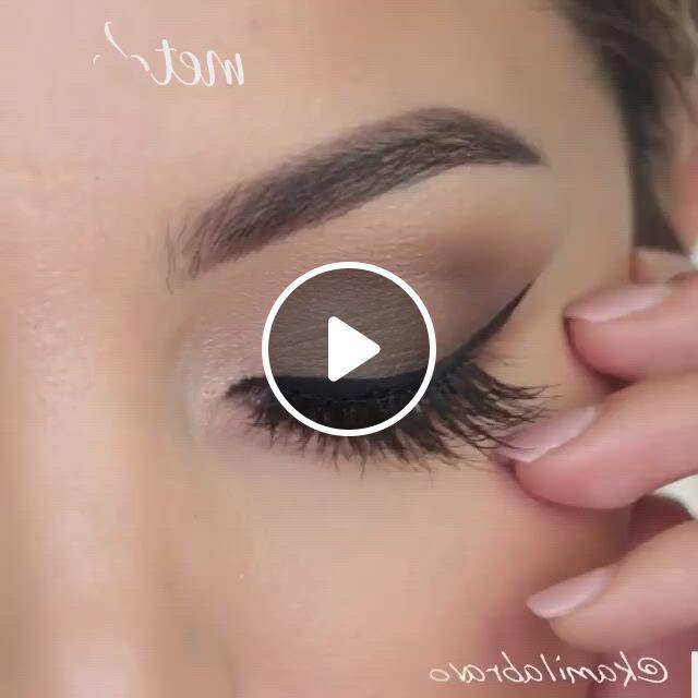 Makeup Tutorial - Video & GIFs | prom eye makeup, eye makeup tutorial, beautiful eye makeup, matte eye makeup, silver eye makeup, korean eye makeup, makeup eye looks, purple eye makeup, eye makeup steps, eye makeup art, sexy makeup