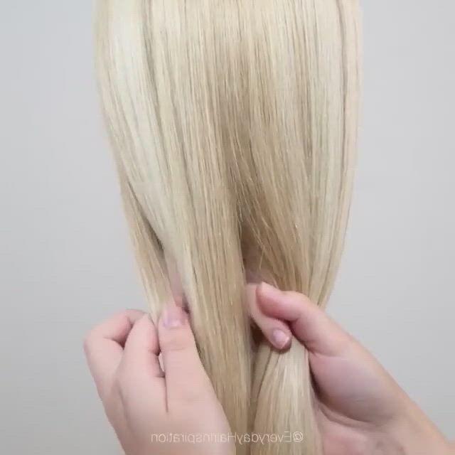 Super easy fishtail braids tutorial
