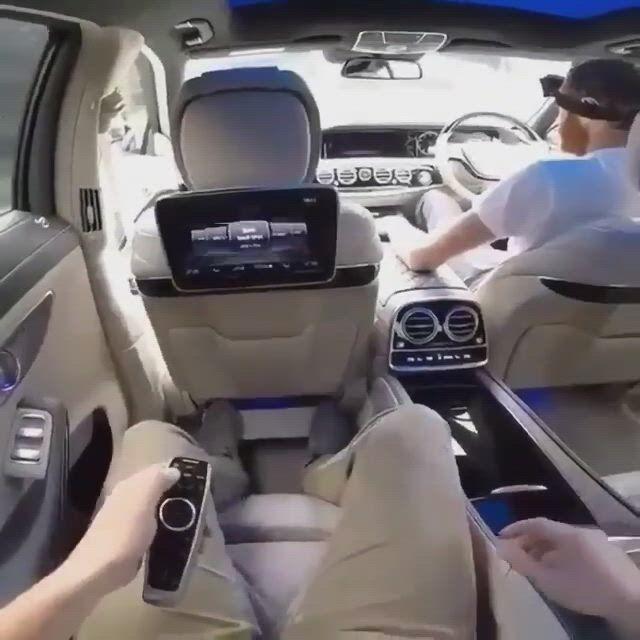 Luxury Mercedes interior