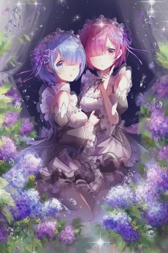 Re Zero - Video & GIFs   anime,anime fan,anime fanart,anime characters,anime love,anime images,fan art,kawaii anime