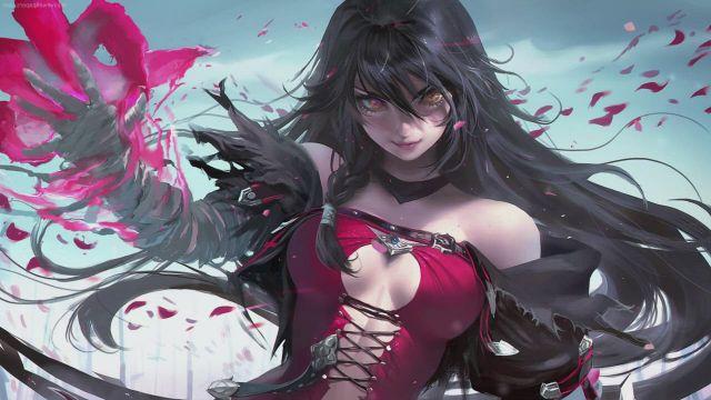 Velvet Crowe Tales of Berseria DESKTOP - Video & GIFs   anime,anime art,fantasy girl,warrior girl,tales of berseria,art