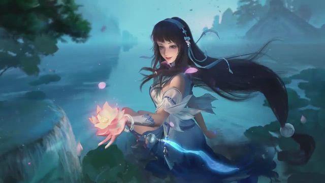 Xi Shi King of Glory DESKTOP - Video & GIFs   anime,fantasy art,anime elf,anime scenery,kawaii anime,anime background